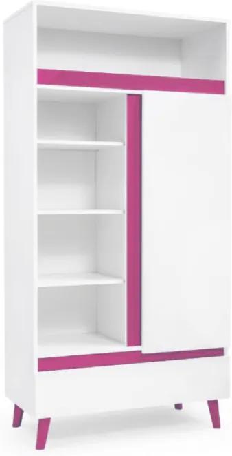 SB Regál Tip 2 Farba: Ružová