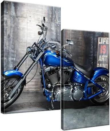 Obraz na plátne Vyleštená motorka 60x60cm 2379A_2A