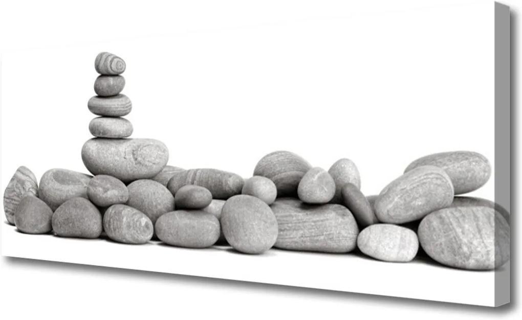Obraz na plátně Skleněný kameny umění