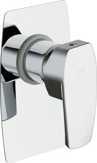 NOVASERVIS LA TORRE STUDIO - sprchová podomietková batéria chróm 31050,0