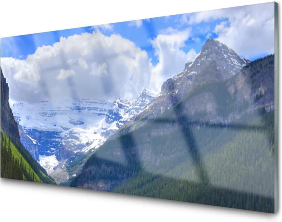 Plexisklo obraz Skleněný krajina hory