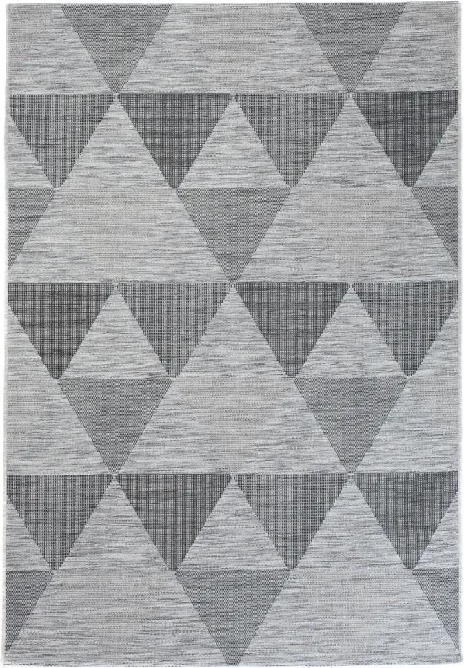 Vonkajší kusový koberec Aleta šedý, Velikosti 80x150cm