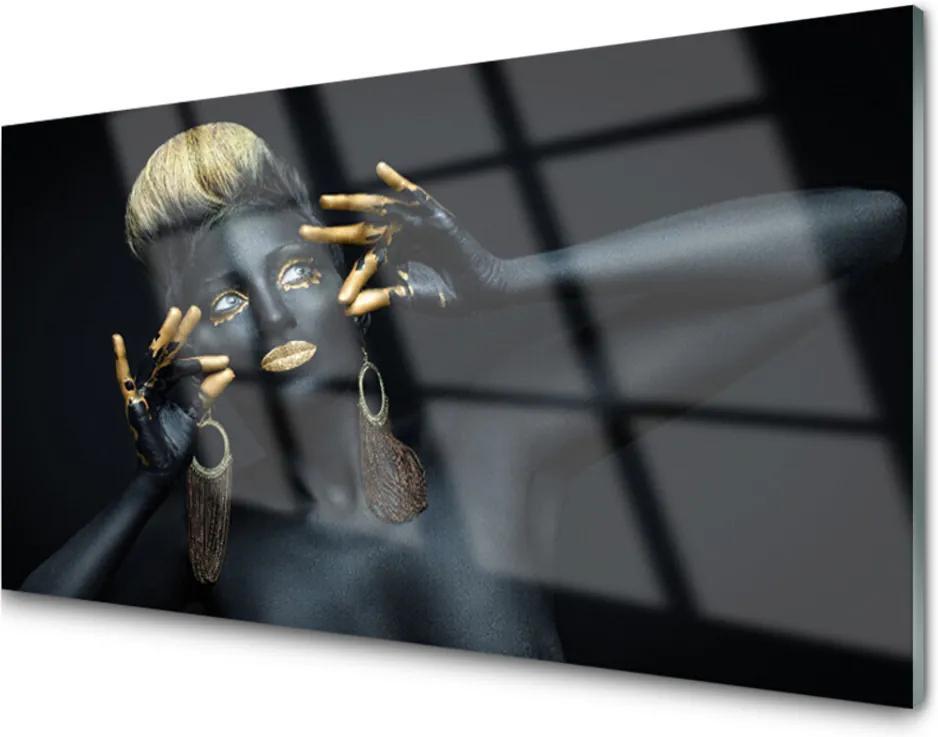 Plexisklo obraz Žena barva člověk