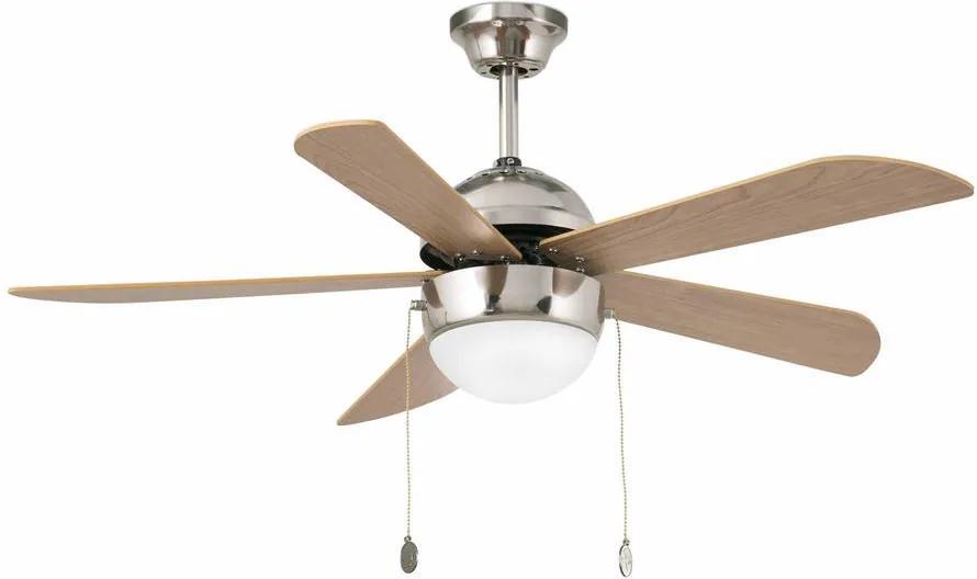 Stropný ventilátor so svietidlom FARO 33319 VENETO