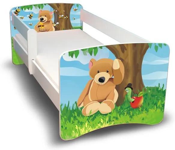 MAXMAX Detská posteľ 160x80 cm - MACKO II 160x80 pre všetkých NIE