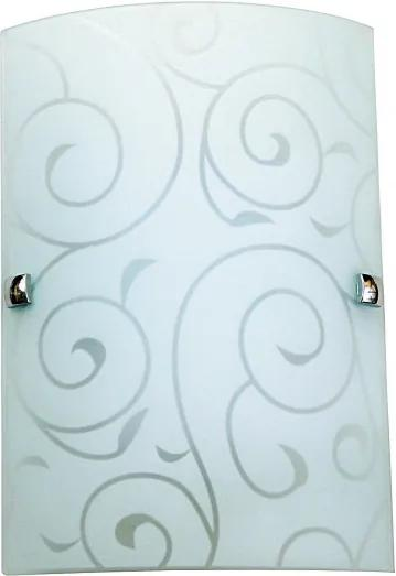 Rábalux Harmony lux 3850 Nástenné Svietidlá biely kov E27 1x MAX 60W IP20