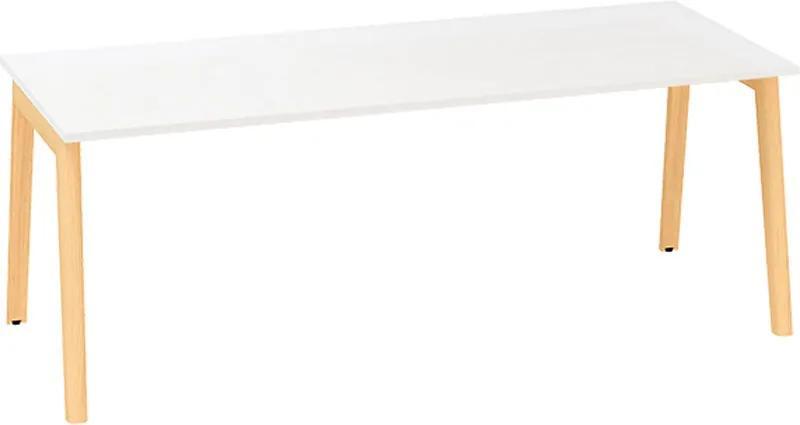 Konferenčný stôl ROOT, 2000 x 1000 mm, bílá