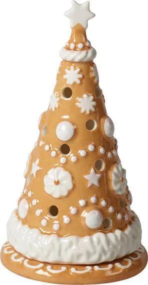 Svietnik, malý stromček 15 cm Winter Bakery Decor.