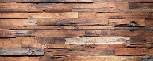 Vliesové fototapety, rozmer 375 cm x 150 cm, drevená stena, DIMEX MP-2-0158