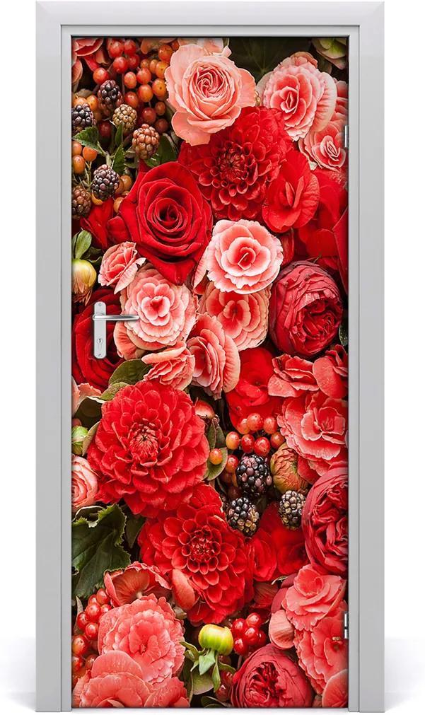 Fototapeta samolepící Kytice květin