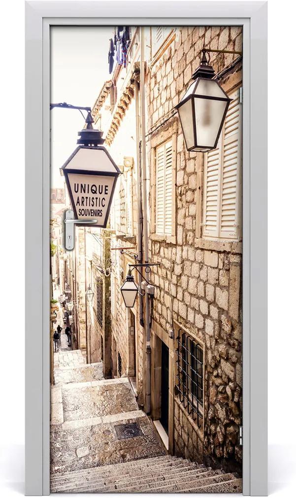Fototapeta samolepící dveře Ulice staré město