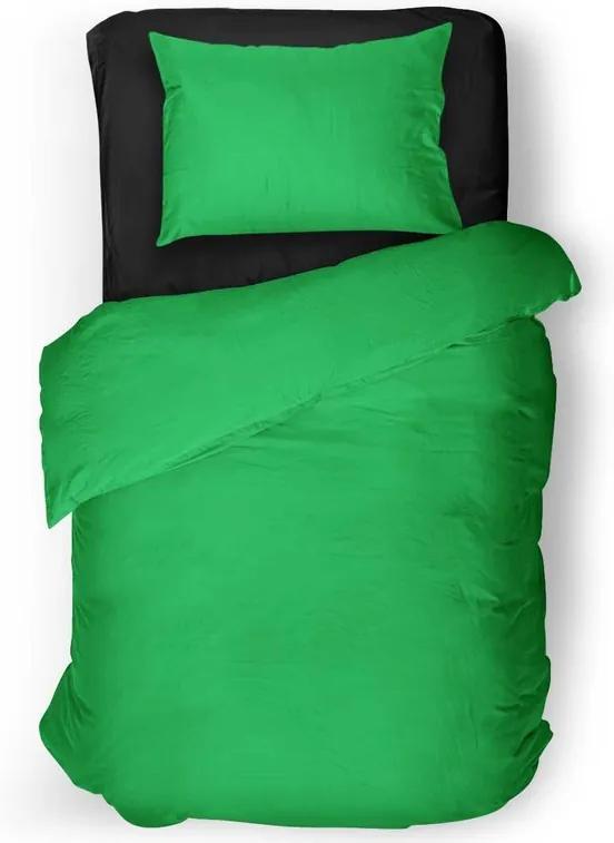 Obliečky Zelené svetlé (Rozmer: 1x150/200 + 1x60/50)