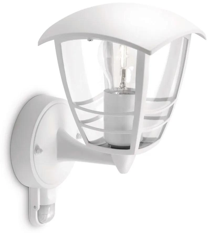 Philips Philips 15388/31/16 - Vonkajšie nástenné svietidlo s čidlom MYGARDEN CREEK 1xE27/60W/230V P0857