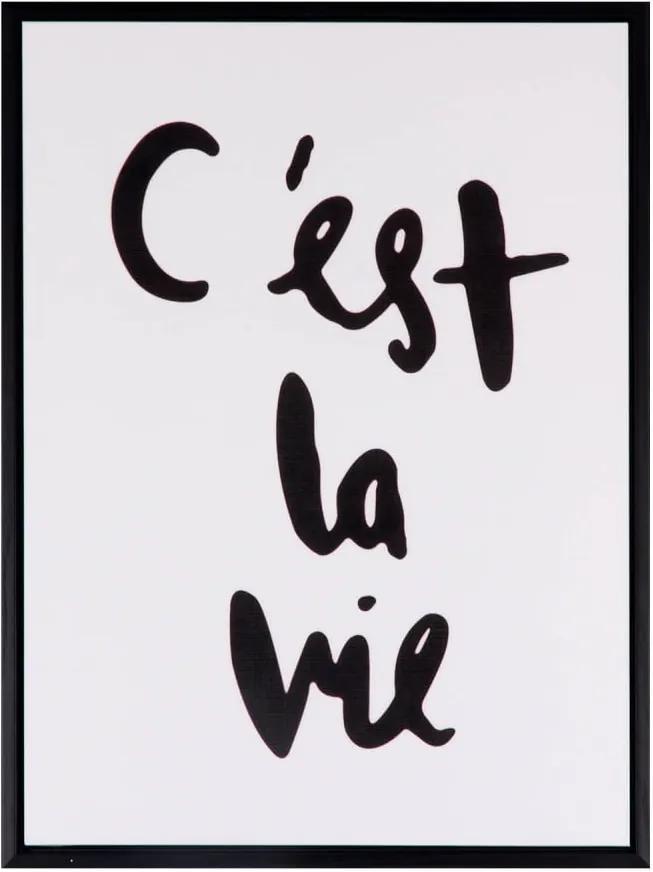 Obraz sømcasa La Vie, 30 x 40 cm