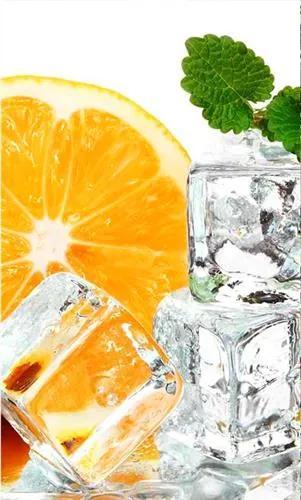 Vliesové fototapety, rozmer 150 cm x 250 cm, citrón a ľad, DIMEX MS-2-0238