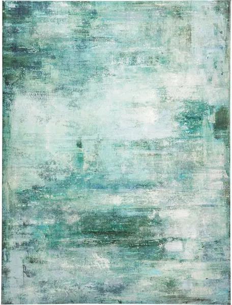 KARE DESIGN Obraz s ručnými ťahmi Abstract Blue 90 × 120 cm