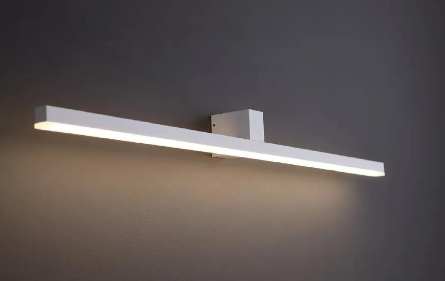 FINGER veľké | minimalistické nástenné led svietidlo IP54 Farba: Biela