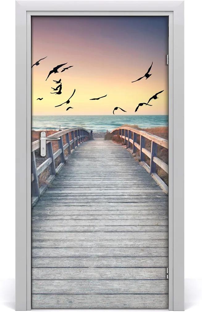 Fototapeta na dveře samolepící Stezka na pláž