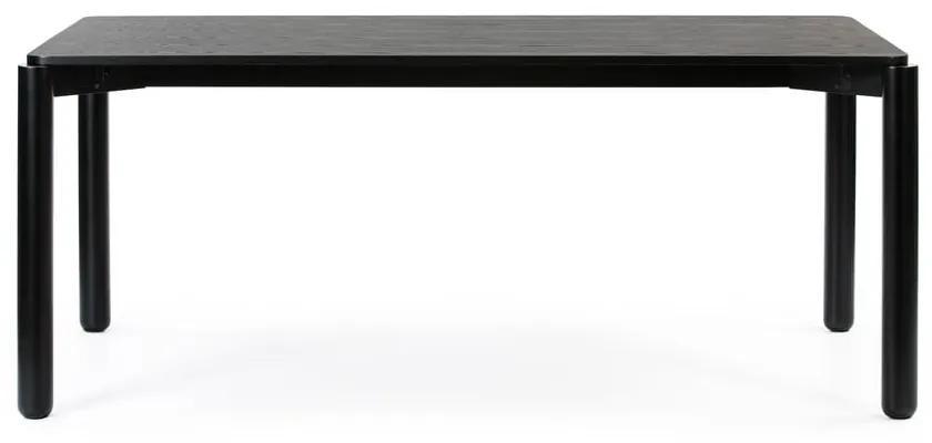 Čierny jedálenský stôl Teulat Atlas, dĺžka 180 cm