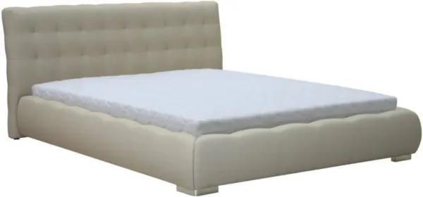 BOG-FRAN Forrest 160 čalúnená manželská posteľ béžová