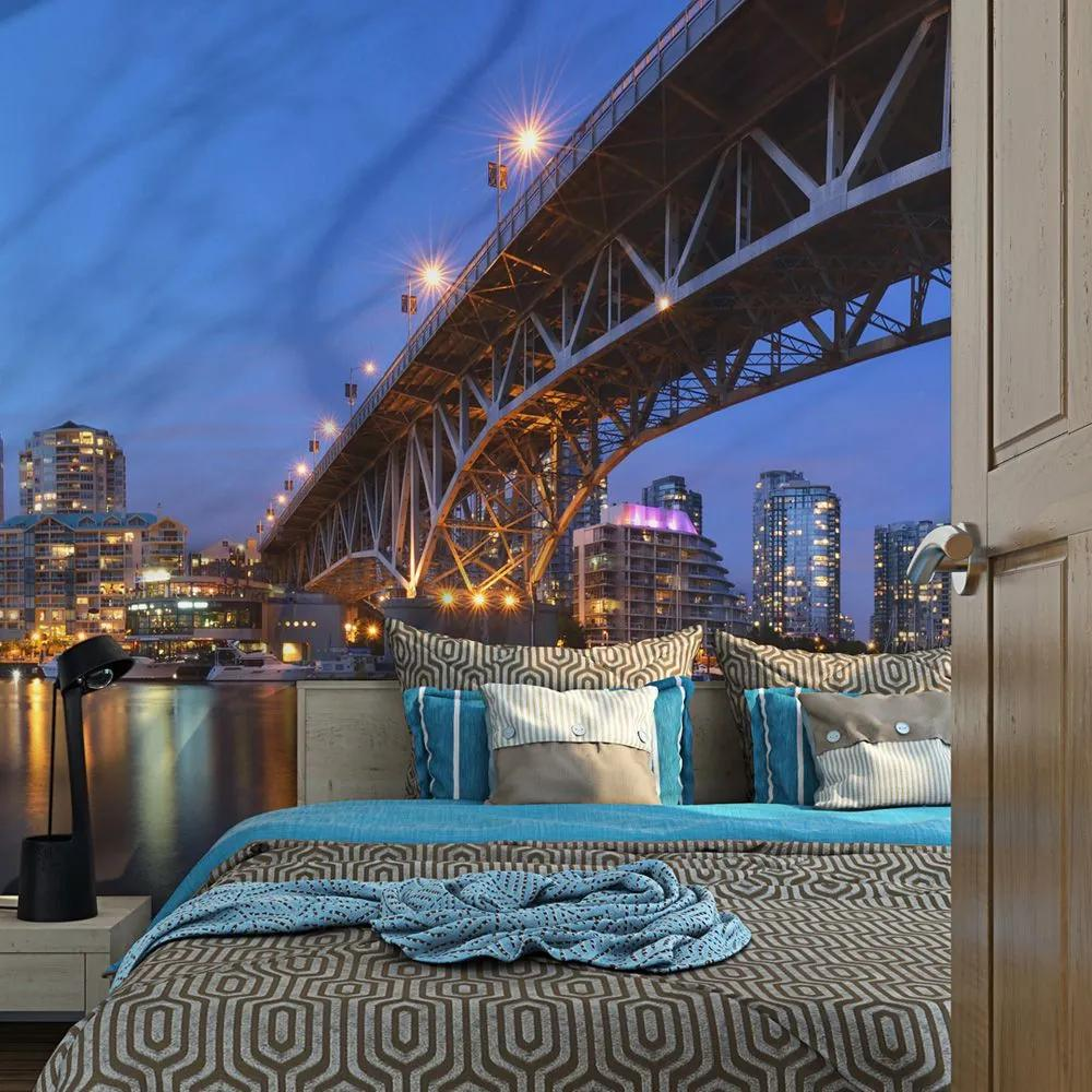 Fototapeta - Granville Bridge - Vancouver (Canada) 200x154