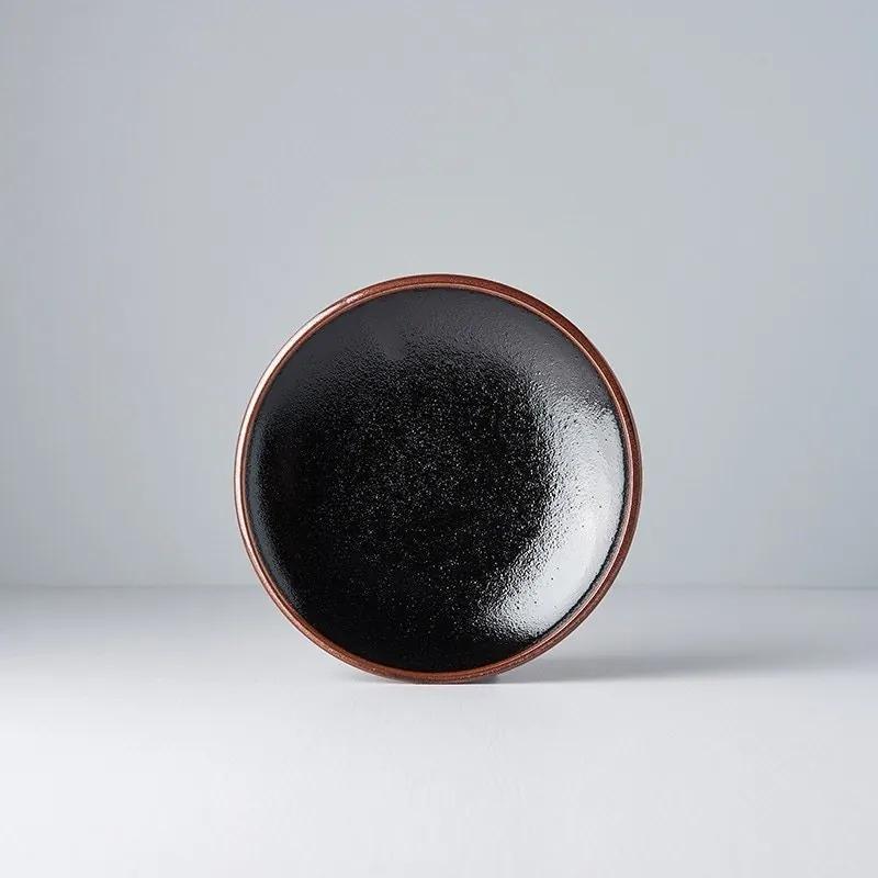 MADE IN JAPAN Sada 2 ks: Predkrmový tanier Tenmokku 20 cm