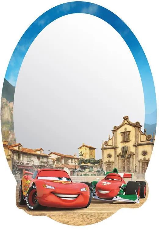 MAXMAX Detské zrkadlo CARS 2 AUTA DISNEY