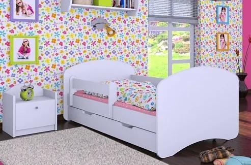 MAXMAX Detská posteľ so zásuvkou 180x90cm HAPPY bez motívu 180x90 pre dievča|pre chlapca|pre všetkých ÁNO