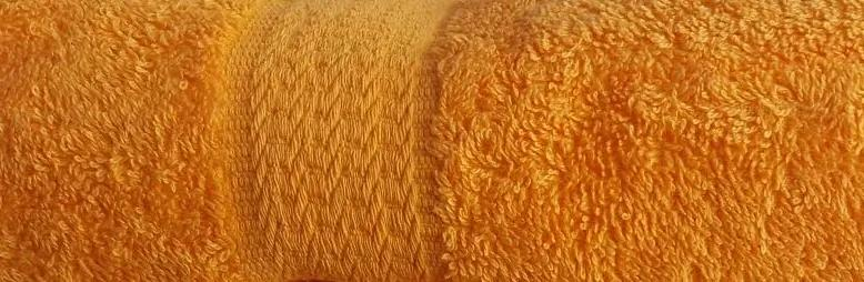 HoD Uterák Froté Oranžový Bavlna 50 x 100