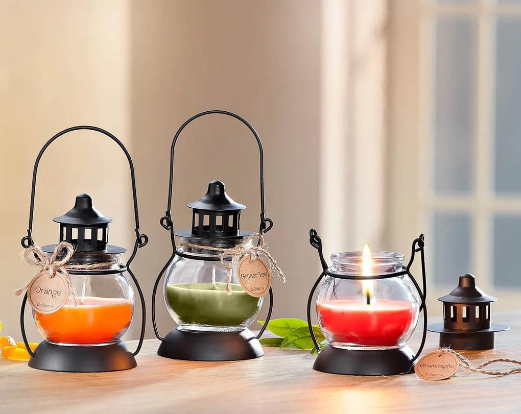 Vonné sviečky Lucerny, 3 kusy