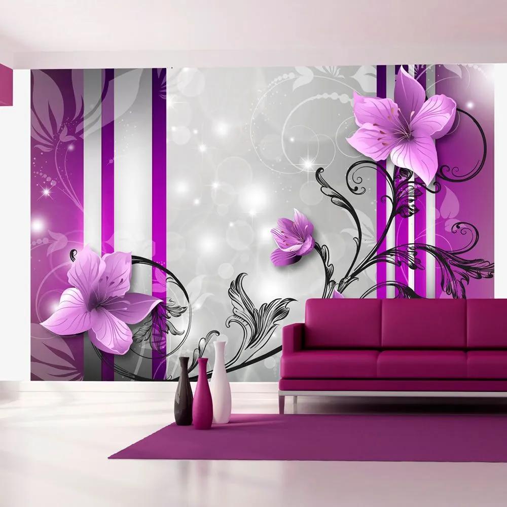 Fototapeta - Violet buds 300x210