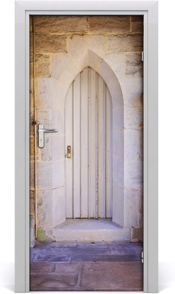 Fototapeta samolepící na dveře Dřeve