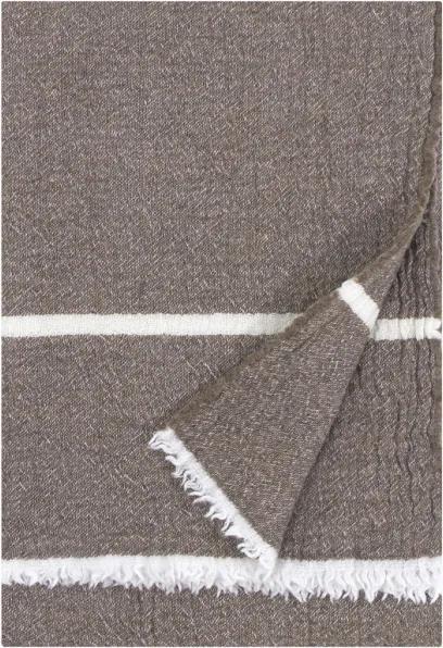 Merino deka Tanhu 130x170, hnedo-biela Lapuan Kankurit