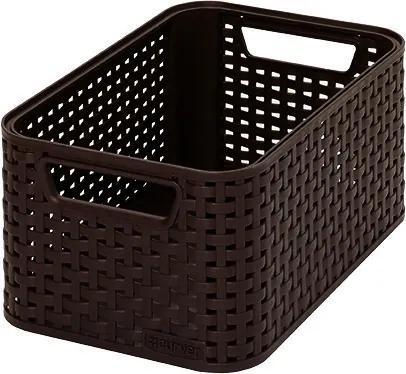 CURVER STYLE S úložný box 28,5 x 12,9 x 19,4 cm hnedý 03614-210
