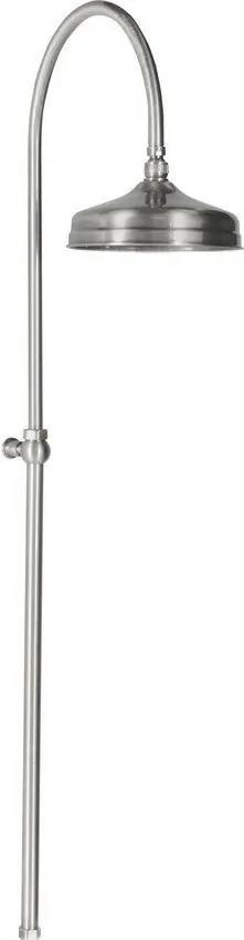 Reitano Antea SET018 sprchový stĺp, hlavová sprcha, bez batérie, brúsený nikel