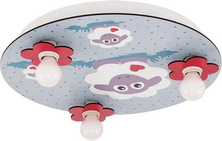 Eglo 97705 LALELU Detské stropné svietidlo E14 3X40W