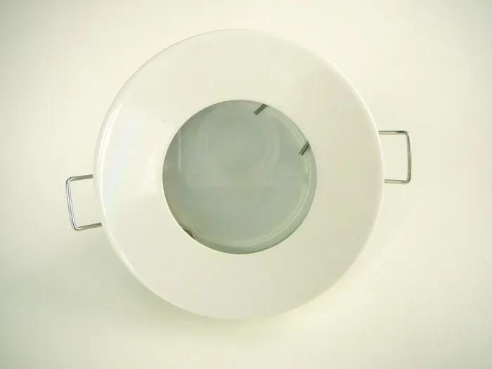 T-LED LED stropné svietidlo do kúpeľne IP44 3W 230V biele Farba svetla: Teplá biela