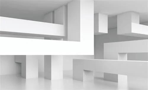Fototapety, rozmer 368 x 254 cm, 3D abstraktní vzor, IMPOL TRADE 2145