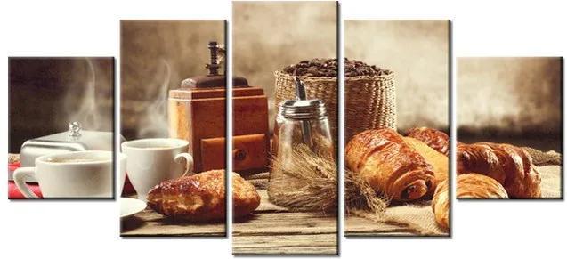 Tlačený obraz Chutné raňajky 150x70cm 1327A_5B