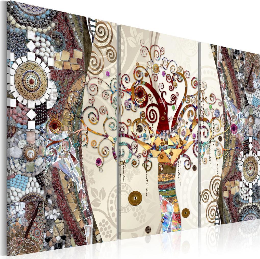Obraz - Mosaic Tree 120x80