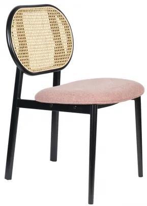 ZUIVER SPIKE NATURAL stolička Ružová