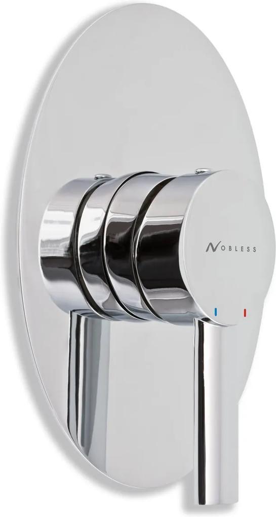 Novaservis Nobless Ovál 32050,0 sprchová batéria podomietková