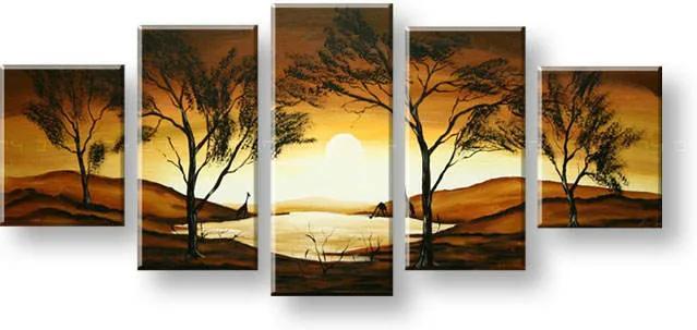 Maľovaný obraz na stenu AFRIKA FB302E5