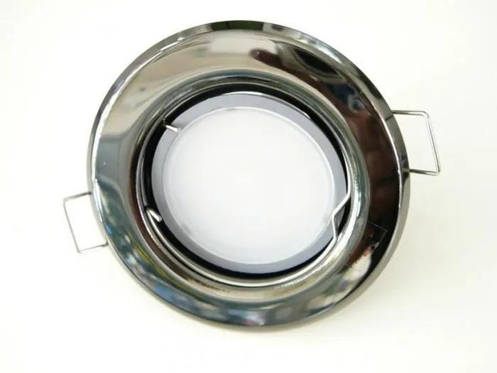 T-LED LED bodové svetlo do sadrokartónu 3W grafitový chróm 230V Farba svetla: Teplá biela