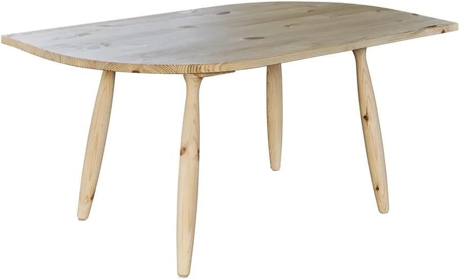 Konferenčný stolík z borovicového dreva Karup Leaf
