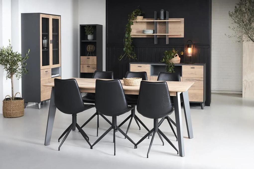 Jedálenský stôl rozkladací Aakil 180 - 280cm