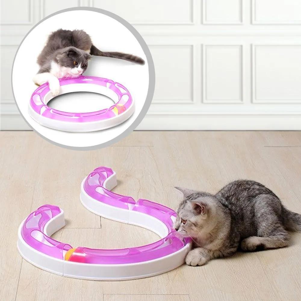 B2B Guľovou dráhou pre mačky