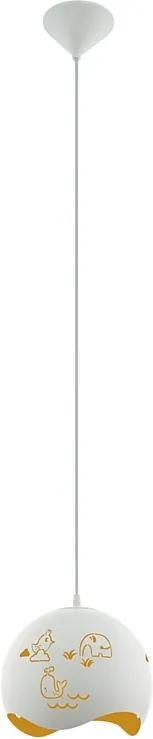 Eglo 97392 LAURINA Detské závesné svietidlo E27 1X60W
