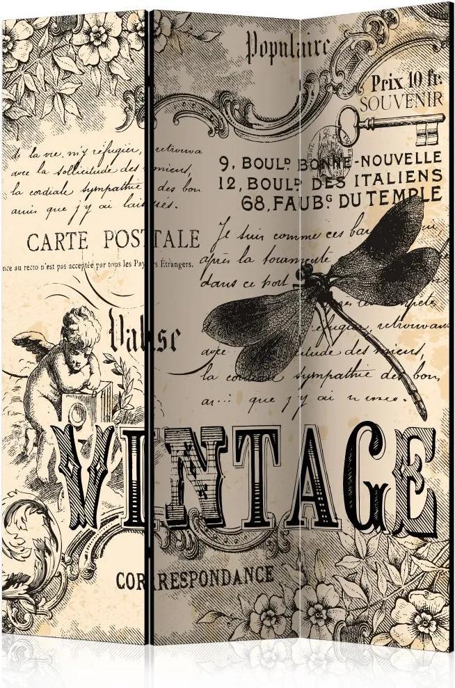 Paraván - Vintage Correspondence 135x172
