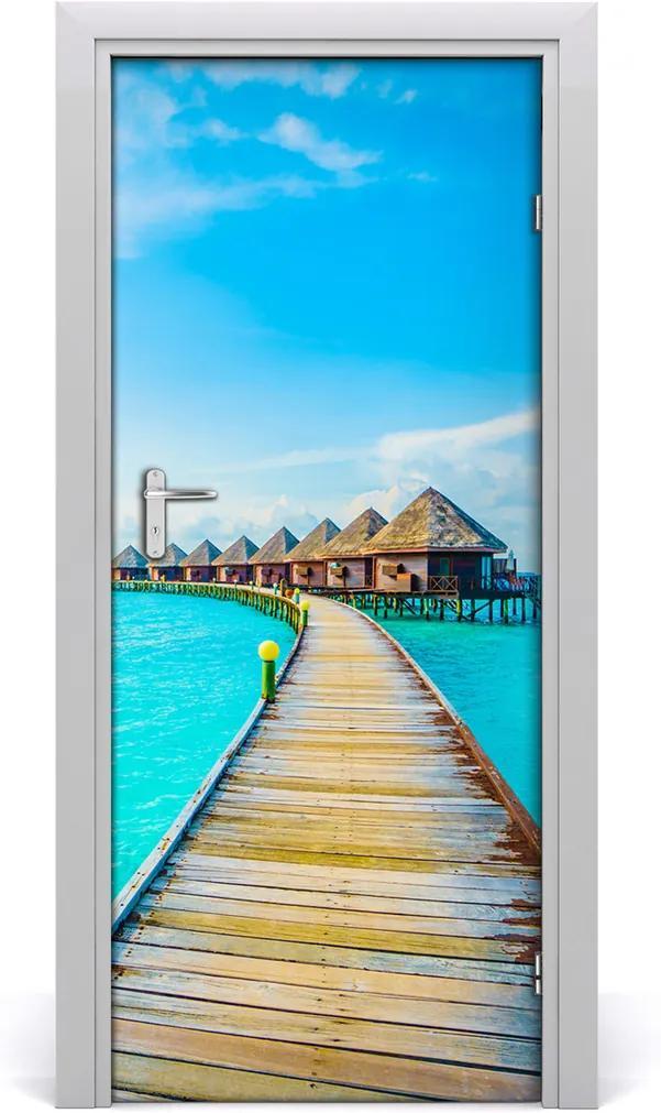 Fototapeta samolepící na dveře Tropické moře